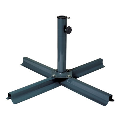 "36"" Steel Patio Umbrella Stand"