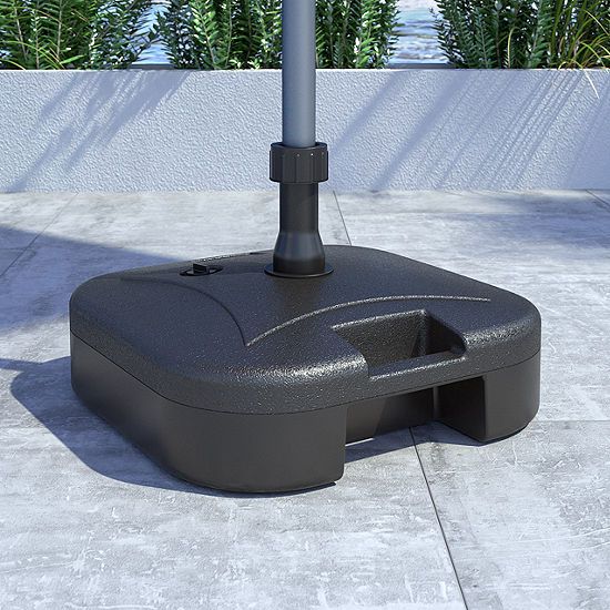 "18"" Plastic Patio Umbrella Base"