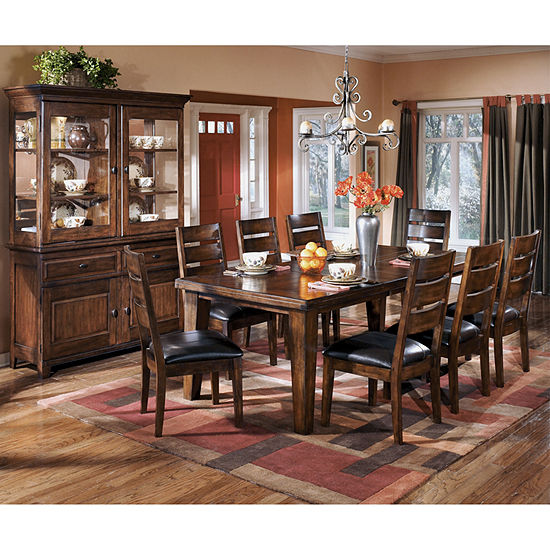 Signature Design by Ashley Larchmont Dining Table with Leaf JCPenney
