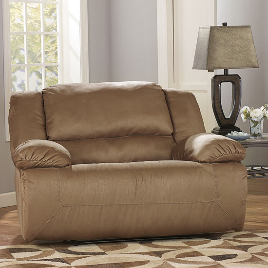 Signature Design by Ashley® Hogan Wide-Seat Recliner