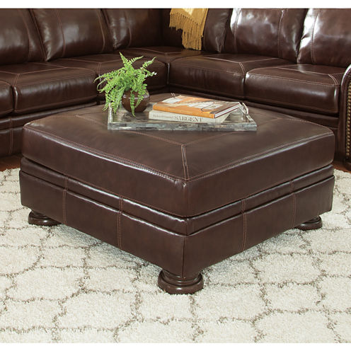 Signature Design by Ashley® Banner Oversized Accent Ottoman