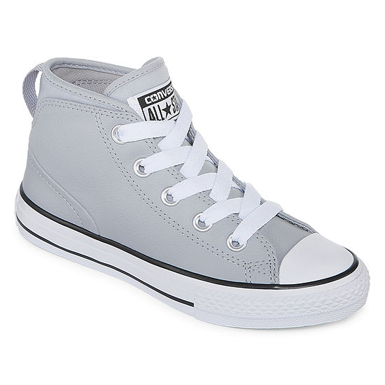 Converse Chuck Taylor All Star Syde Street Leather Mid Boys Sneakers -  Little Kids Big Kids - JCPenney 3569dc7fa
