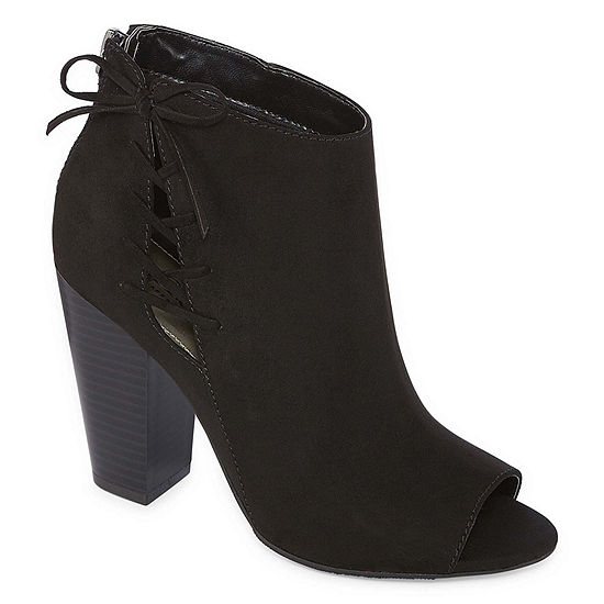 a.n.a Womens Jacky Block Heel Booties