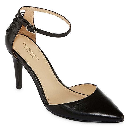 Liz Claiborne Womens Harriett Leather Dress Shoe