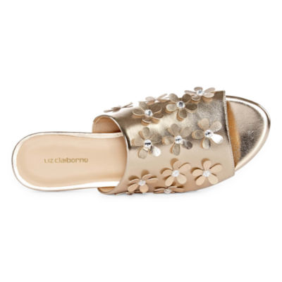 Liz Claiborne Leigh Womens Slide Sandals