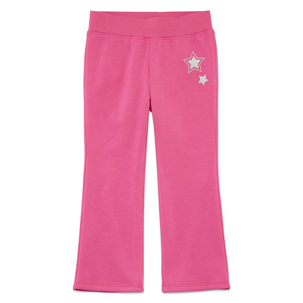 Okie Dokie Pull-On Fleece Pants Toddler Girls