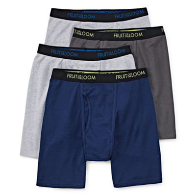 Fruit Of The Loom Dri Stretch 4-pc. Boxer Briefs