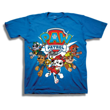 Short Sleeve Paw Patrol T-Shirt-Toddler Boys