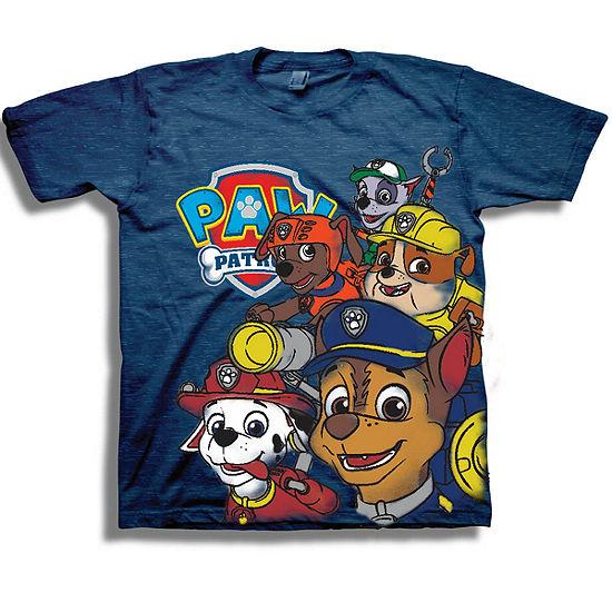 Nickelodeon Toddler Boys Paw Patrol Short Sleeve Graphic T-Shirt
