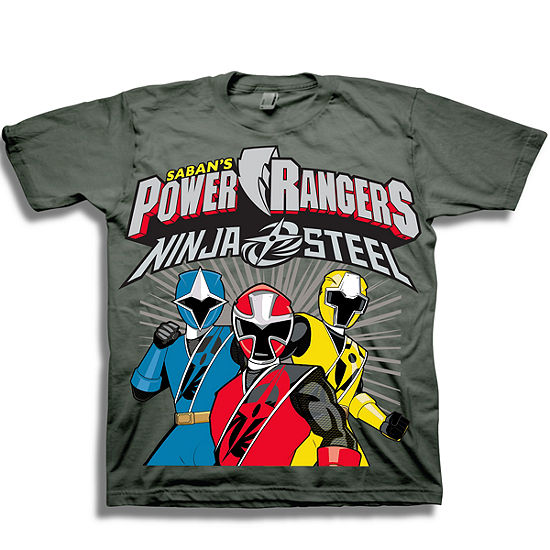 Power Rangers Boys Short Sleeve Power Rangers Graphic T-Shirt-Toddler