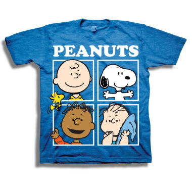 Short Sleeve Peanuts T-Shirt-Toddler Boys