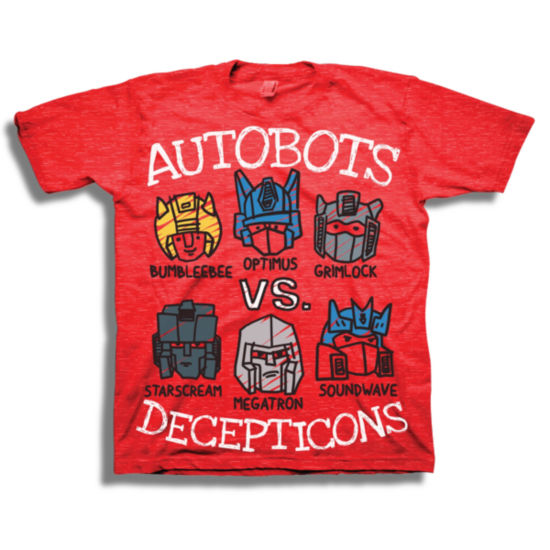 Short Sleeve Transformers T-Shirt-Toddler Boys