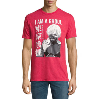 Tokyo Ghoul I Am A Ghoul Short-Sleeve Graphic T-Shirt