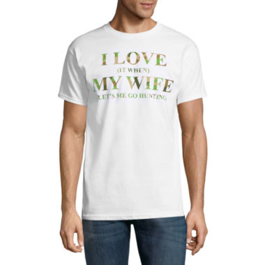 I Love My Wife Short-Sleeve Graphic T-Shirt