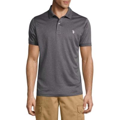 U.S. Polo Assn. Short Sleeve Solid Performance Polo Shirt