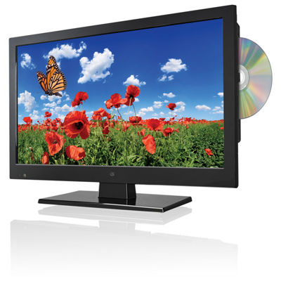 "GPX TDE1587B 15.6"" LED HDTV with Built-in DVD Player - 720p, 60Hz"