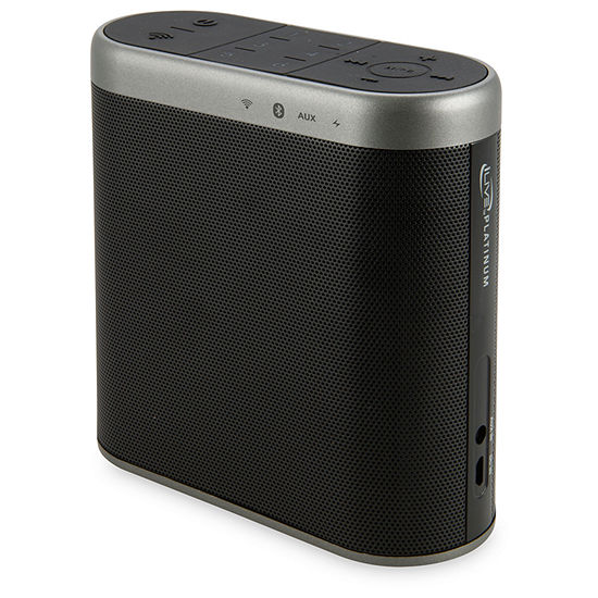 iLive Platinum ISWF476B Bluetooth Wi-Fi Speaker with Rechargeable Battery