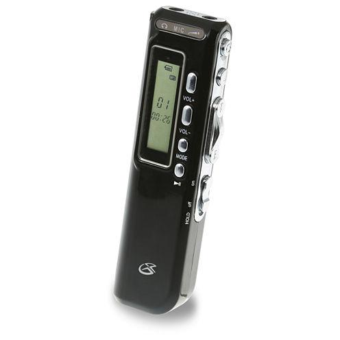 GPX PR047B 4GB Digital Voice Recorder