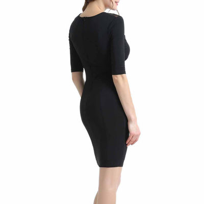 Phistic Michelle Elbow Sleeve Bodycon Dress