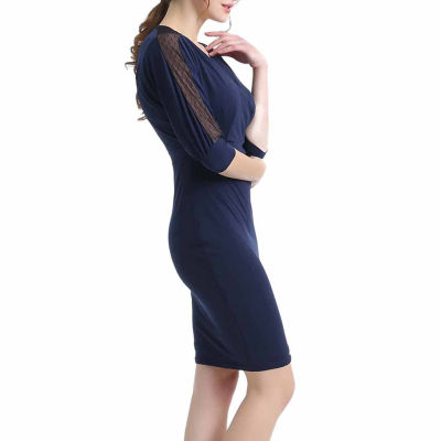 Phistic Leah Elbow Sleeve Bodycon Dress