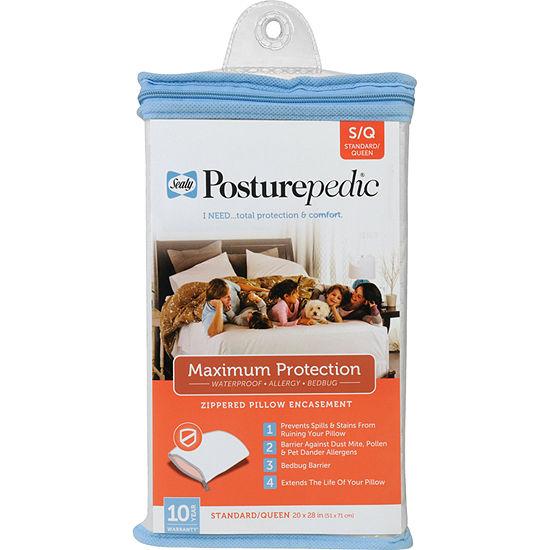 Sealy Maximum Allergen Barrier Pillow Protector