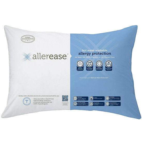 Allerease Hot Water Washable Medium Density Pillow