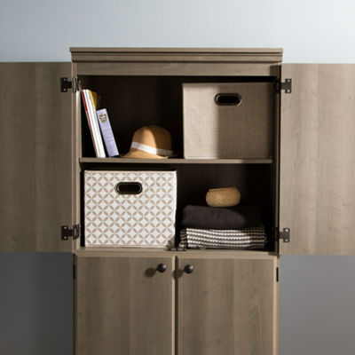 Morgan 4-Door Storage Cabinet