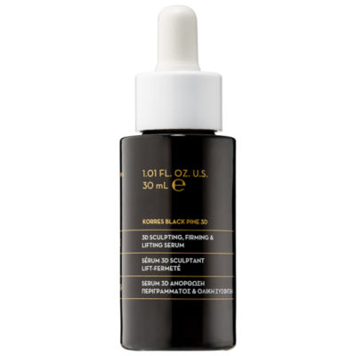 KORRES Black Pine 3D Sculpting, Firming & Lifting Face Serum