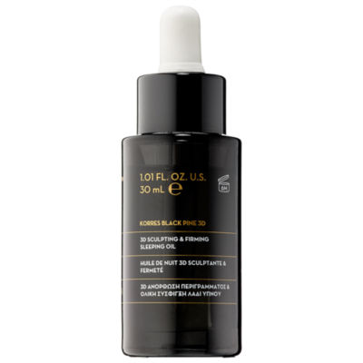 KORRES Black Pine 3D Sculpting & Firming Sleeping Oil
