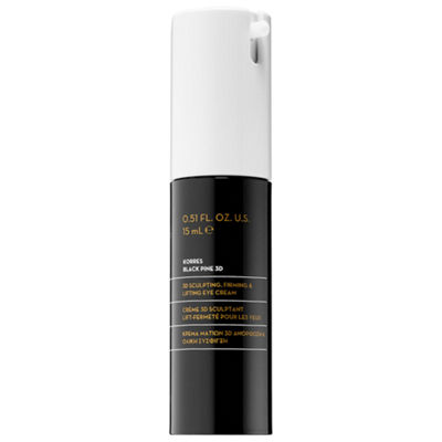 KORRES Black Pine 3D Sculpting, Firming & Lifting Eye Cream