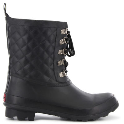 Chooka Fashion Womens Freja Rain Boots Waterproof Pull-on