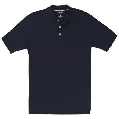 French Toast Short Sleeve Interlock Polo - Boys Big Kid