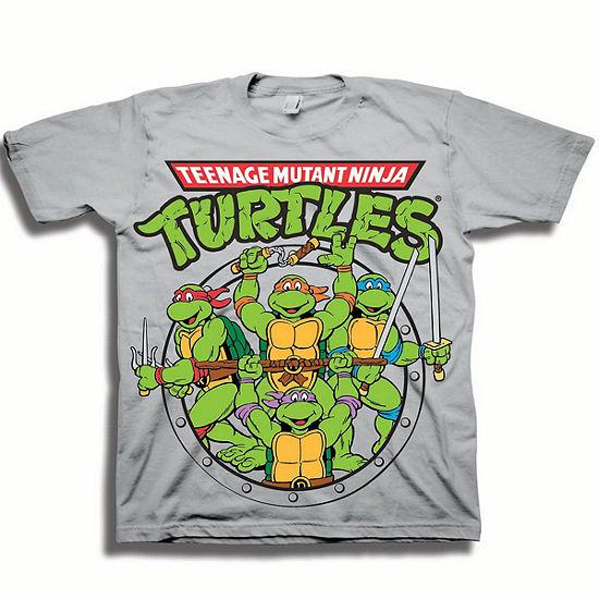 Nickelodeon Boys Short Sleeve Teenage Mutant Ninja Turtles Graphic T-Shirt-Toddler