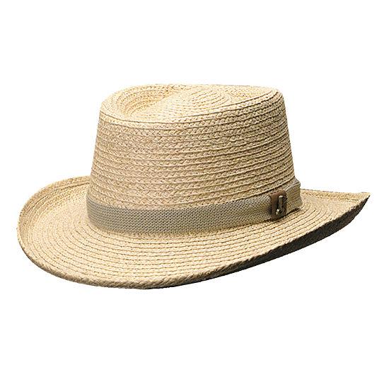 Scala™ Raffia Gambler Hat