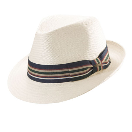 1950s Mens Hats | 50s Vintage Men's Hats Scala Mens Fedora Medium  White $32.00 AT vintagedancer.com