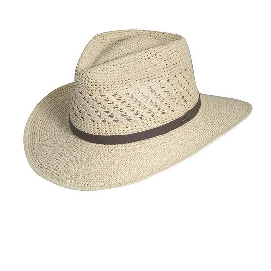 Scala™ Fine Raffia Outback Safari Hat