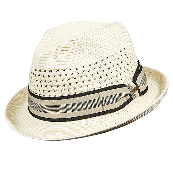 Scala™ Vent Crown Braid Fedora