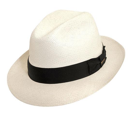 Scala™ Snap Brim Panama Hat
