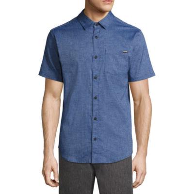 Zoo York Short Sleeve Button-Front Shirt