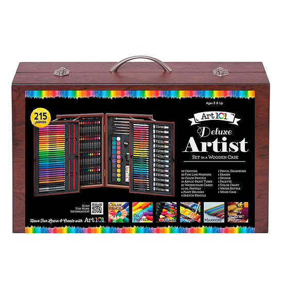 ART101 215-Pc. Mixed Media Art Set