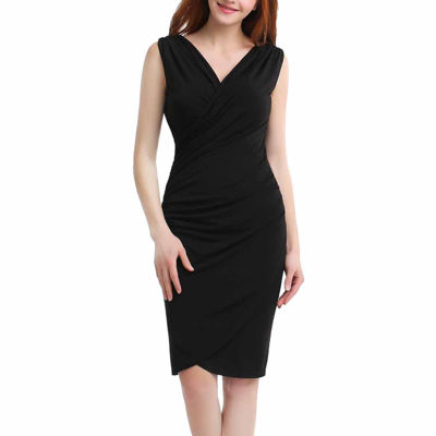Phistic Meghan Sleeveless Wrap Dress