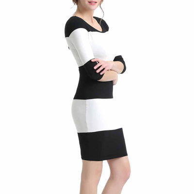 Phistic Camille 3/4 Sleeve Bodycon Dress