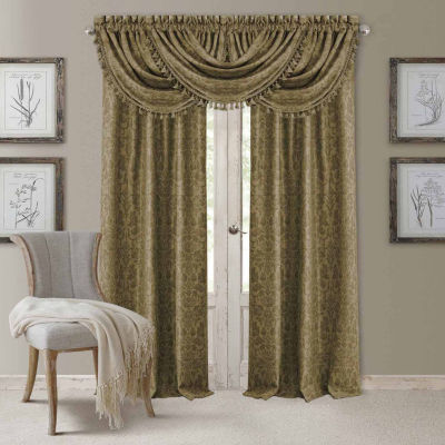 Elrene Antonia Blackout Back-Tab Curtain Panel