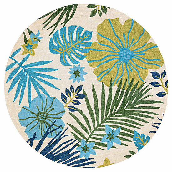 Couristan Covington Summer Laila Hooked Round Rugs