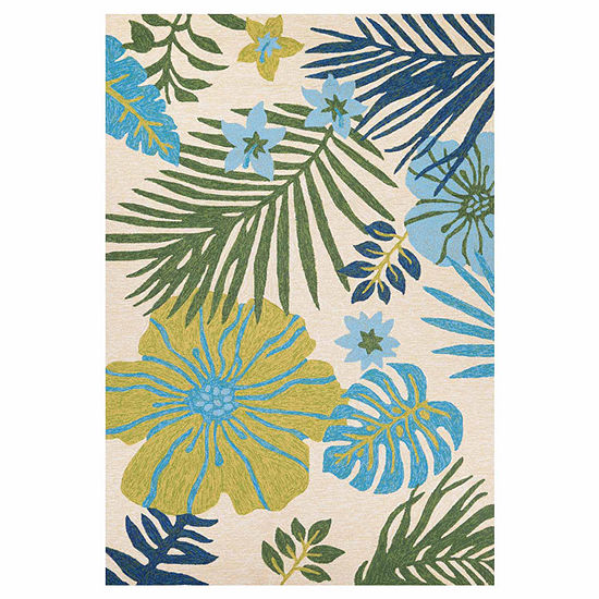 Couristan Covington Summer Laila Hooked Rectangular Rugs