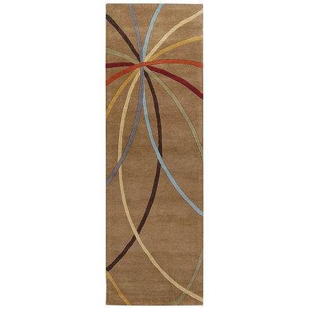 Decor 140 Obihiro Hand Tufted Rectangular Indoor Rugs, One Size , Pink