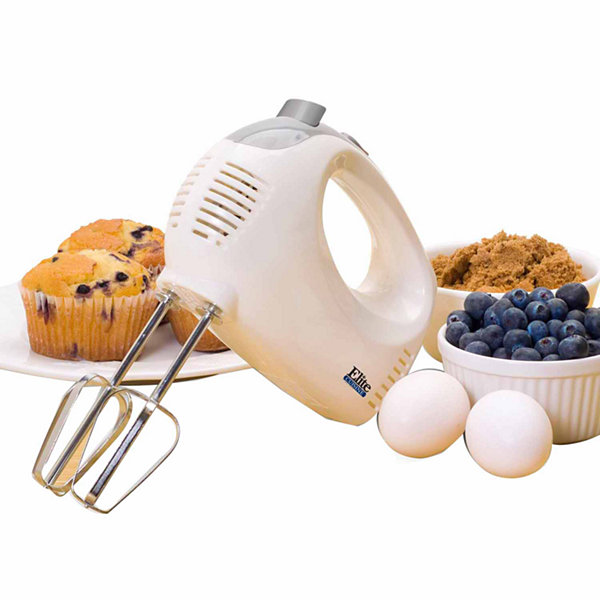 Elite Cuisine EHM-05 5-Speed Hand Mixer