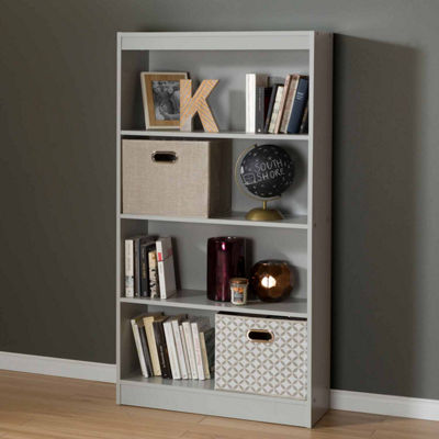 Axess Soft Gray Bookcase