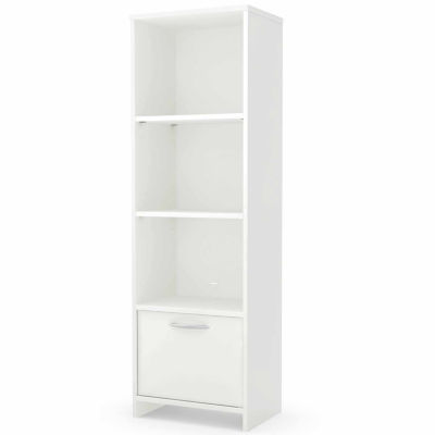 Step One 3-Shelf Bookcase with Door