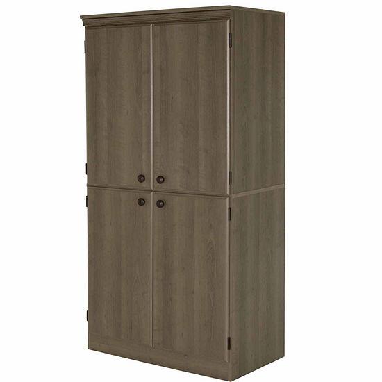 Morgan 4-Door Storage Cabinet